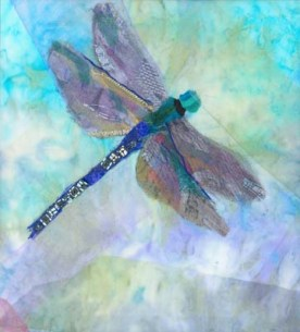 Dragonfly by Barbara Shaw (@art_in_textiles)