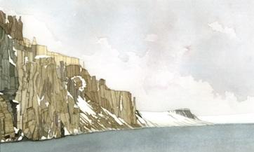 Basalt cliffs, Svalbard - Susan Avery